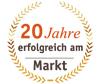 Label 20 Jahre erfolgreich am Markt